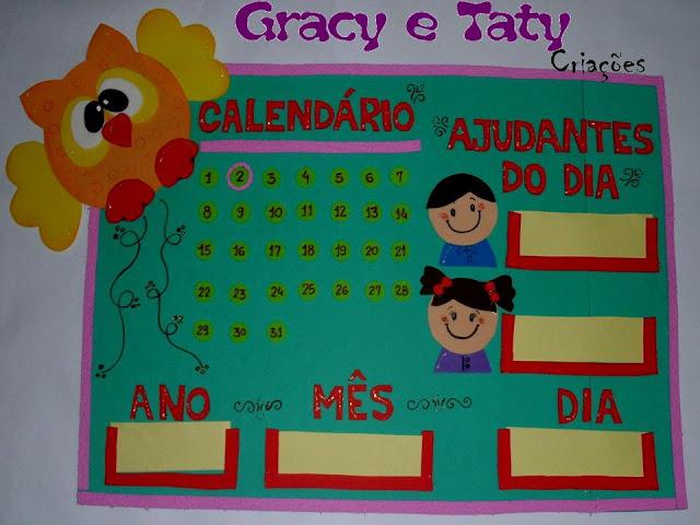 calendário prático