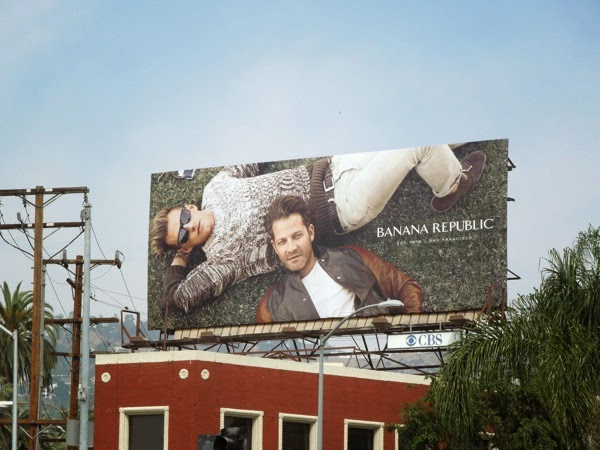 Banana Republic Nate Berkus True Outfitters Spring 2014 billboard
