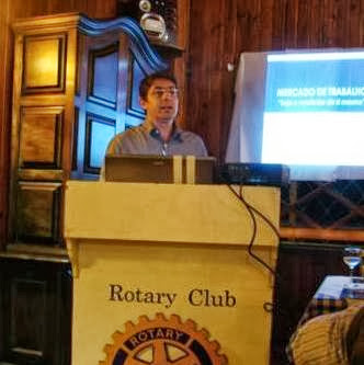 Palestra no Rotary Club