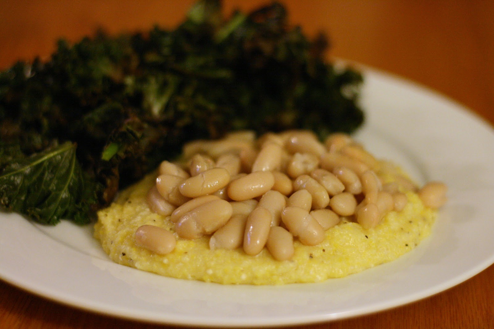 Laine's Recipe Box: Creamy Parmesan Polenta with White Beans and ...
