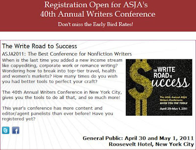ASJA writers' conference