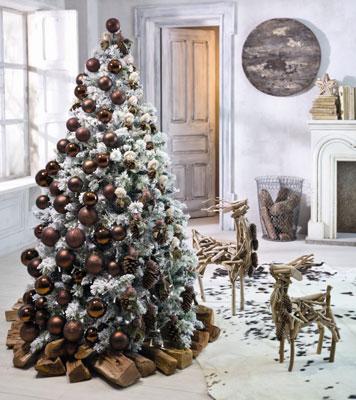 árbol de Navidad 2012 2013 adornado