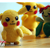 Free Pattern: Pikachu (Pokemon)