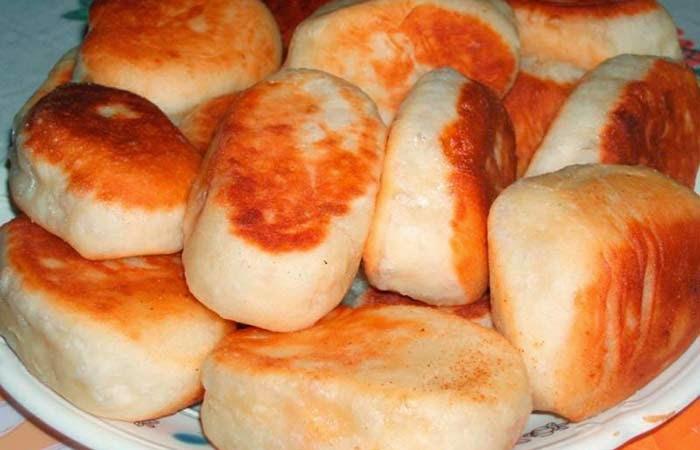 Тесто для жареных пирожков без молока