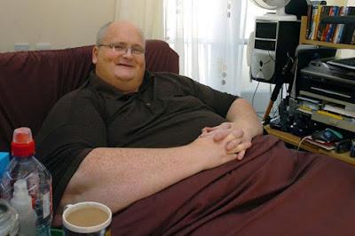 lelaki paling gemuk di dunia