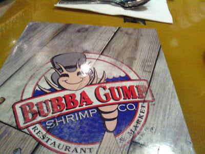 Bubba Gump - Makati, Caryl Estrosas