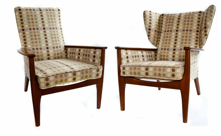 Mick Sheridan Upholstery: Parker Knoll Armchairs in Melin ...