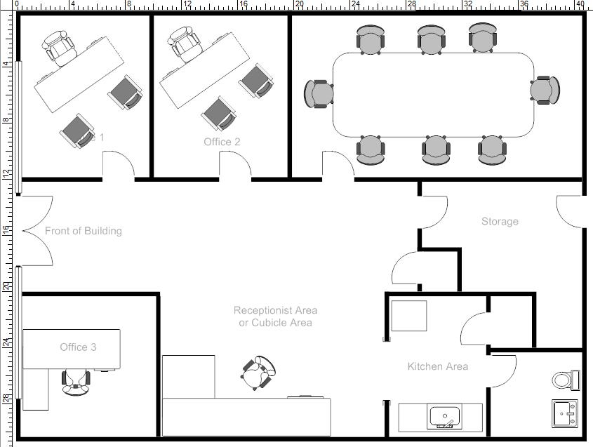 28 office space layout office space planning office for Office space planning