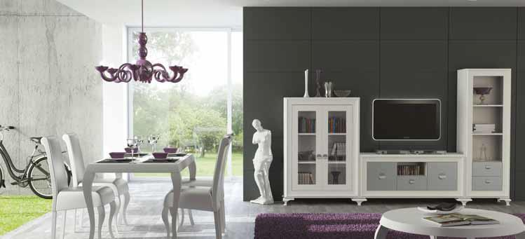Dubrasen dise o interior - Muebles coloniales blancos ...