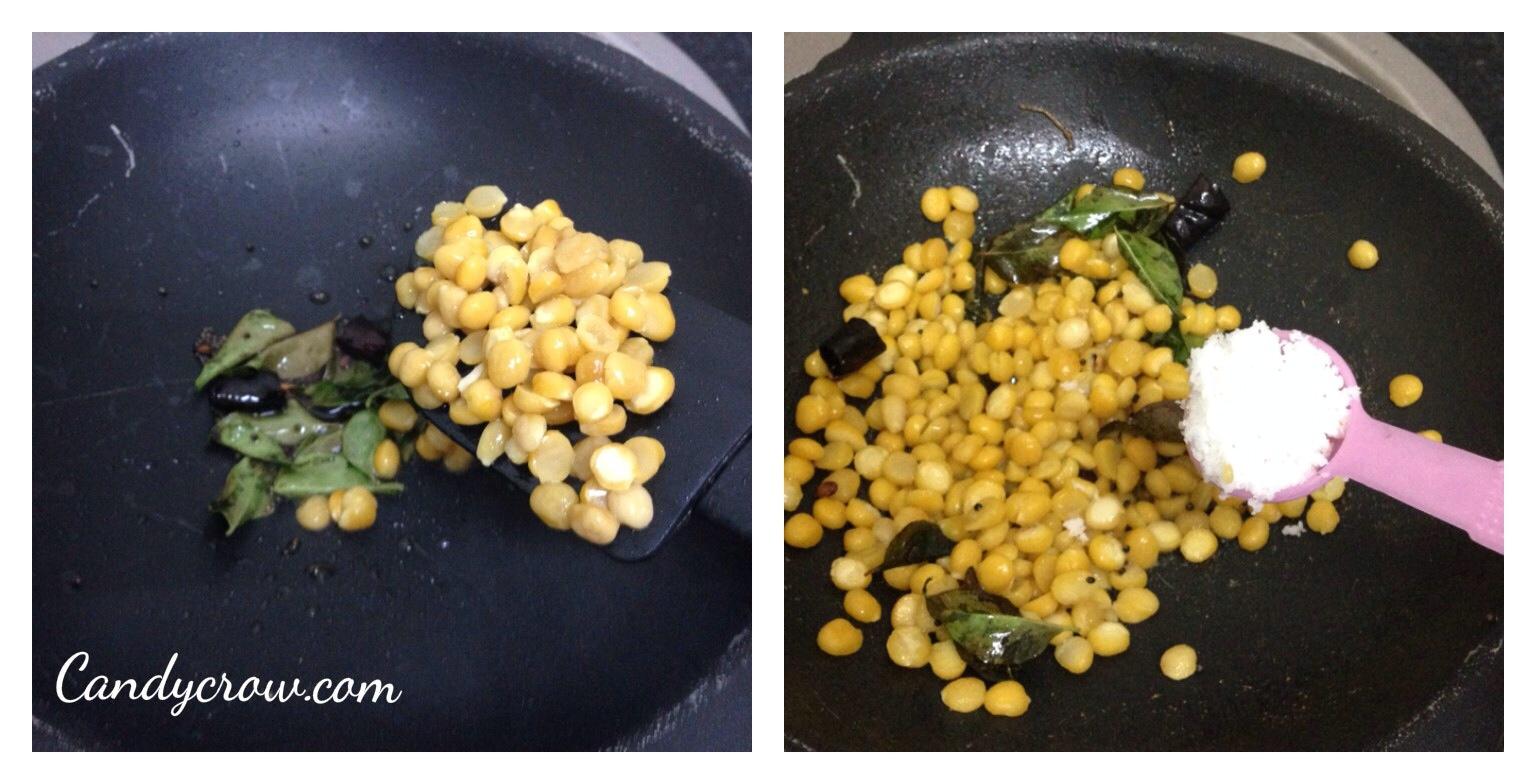 Bengal Gram Stir Fry