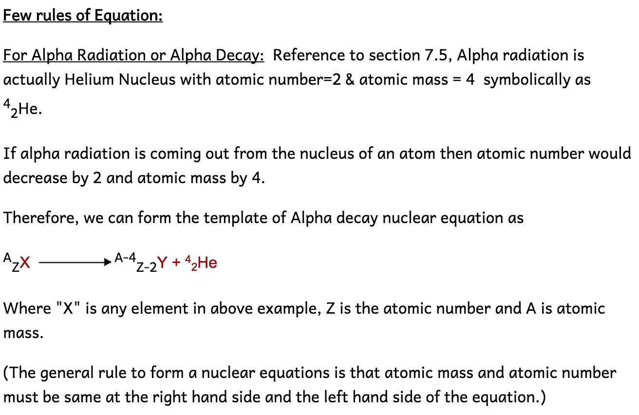 74 understand that alpha and beta particles and gamma rays are 76 describe the effects on the atomic and mass numbers of a nucleus of the emission of each of the three main types of radiation biocorpaavc Images