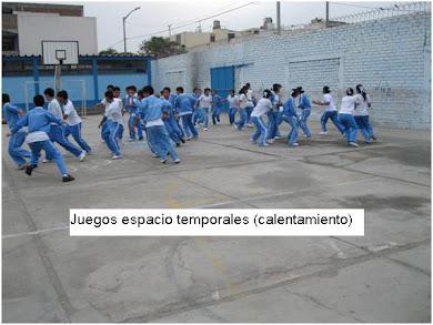 EDUCACIÓN FÍSICA. I.E. LICEO - TRUJILLO 2011