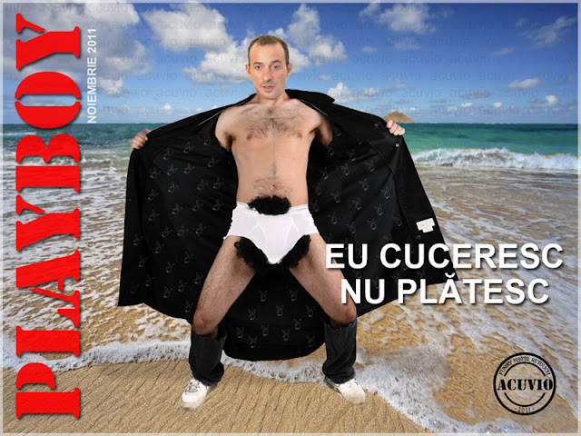 Radu Mazare Playboy Funny photo