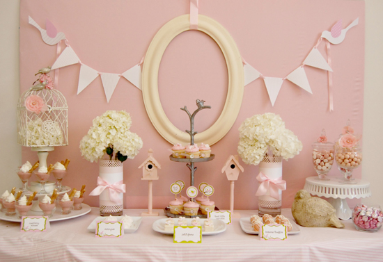 Baby Shower Table Decorations Ideas