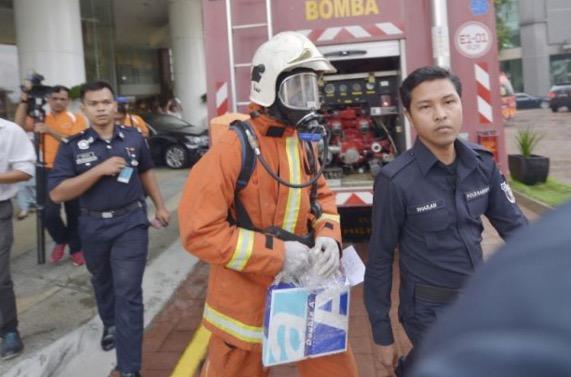 Kandungan bungkusan berserbuk yang menggemparkan pejabat Menteri Kesihatan didedahkan