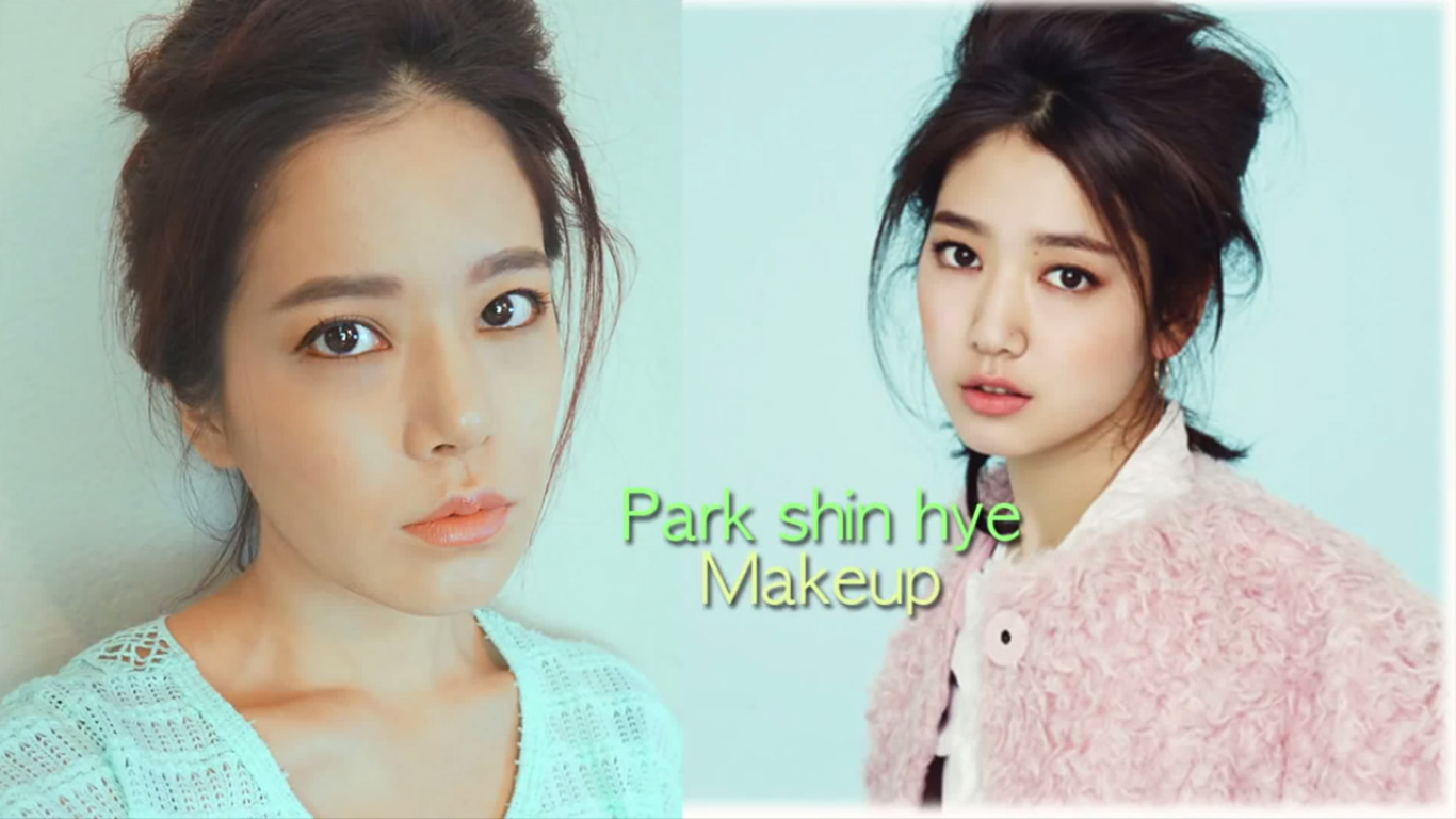 park shin hye makeup tutorial