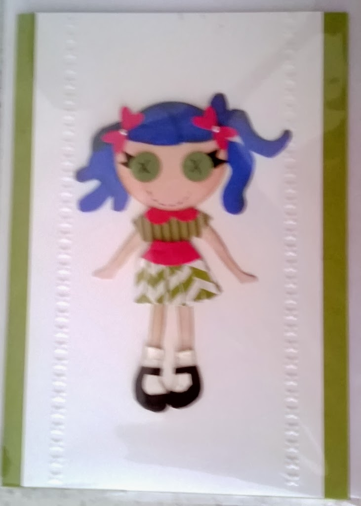 My little gal made by Zena Kennedy Independent Stampin Up demonstrator