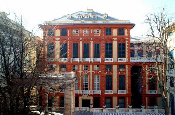 Guida di genova mangiare dormire vedere genova palazzo rosso for Franco albini architetto