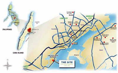Sanremo Oasis Cebu at Citta di Mare Location Map, Condominium for sale in Cebu, Filinvest