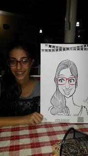 caricatura menina