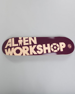 alien skateboard - skate alien workshop
