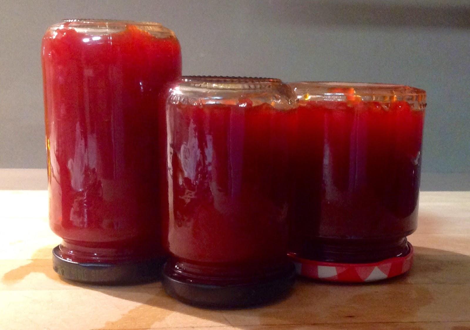 Mermelada de pimientos rojos cocina sastre - Mermelada de pimientos rojos ...