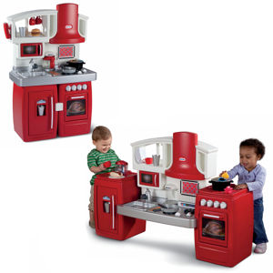 Holiday gift guide 2012 little tikes cook n grow kitchen for Little tikes 2 in 1 buildin to learn motor workshop