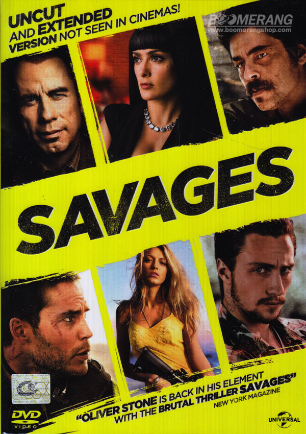 Savages (2012) คนเดือดท้าชนคนเถื่อน DVD5 From DVD9 Master Zone3]