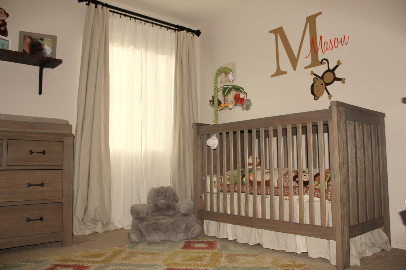 European Farmhouse Charm A Sweet Nursery For Mason