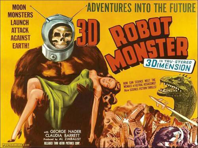 vintage everyday: 14 Hilarious Vintage Sci-Fi Movie Posters from ...