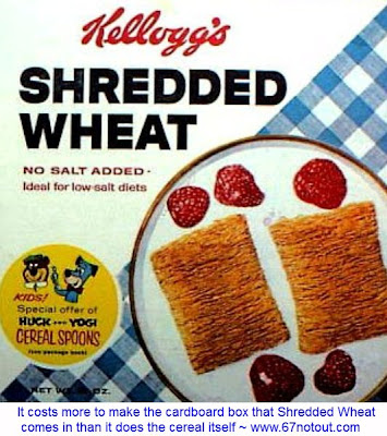 Shredded wheat box