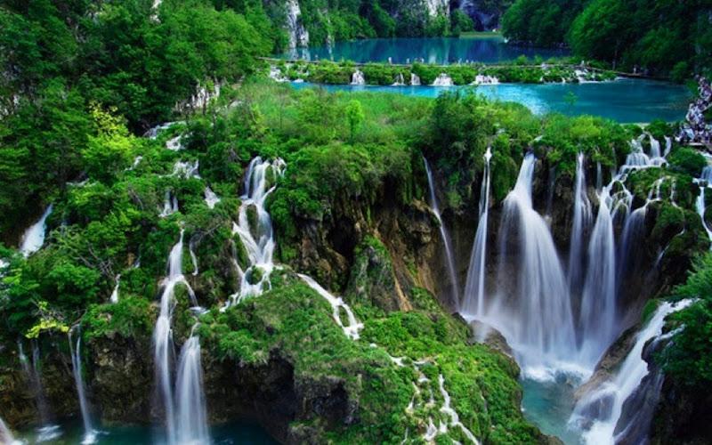 cascadas de agua pura