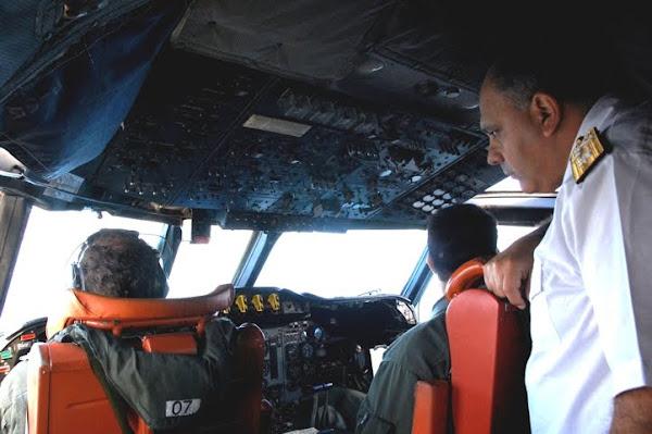 VCTM con el Comandante del Área Naval Atlántica