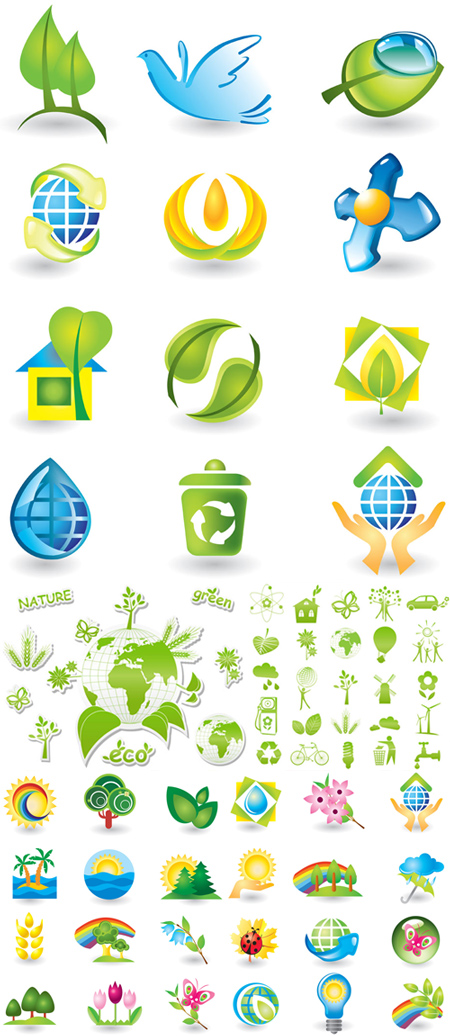 Eco and Nature Icons