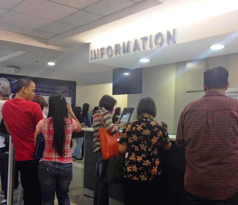 How i renewed my philippine passportfast and easy stellarhoney i gave my printed application form at the appointment counter all 3 copies they scanned the bar code from my form to confirm my appointment falaconquin