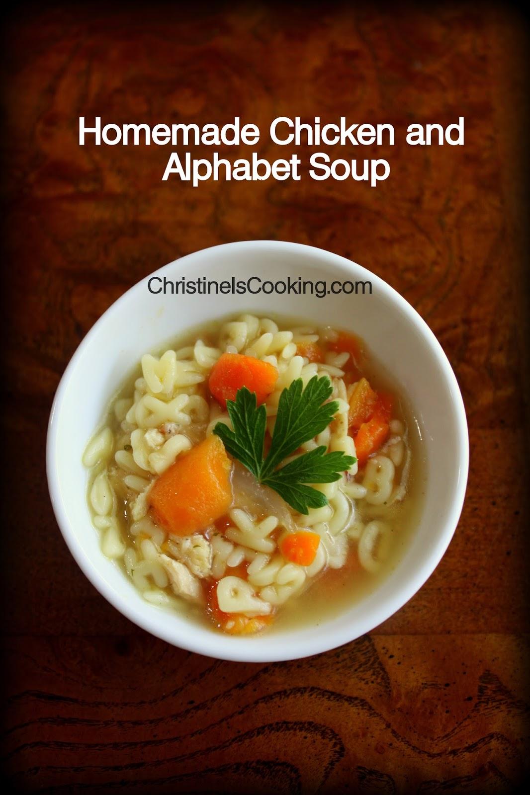 ... .com: Quick Homemade Chicken and Alphabet Soup (OAMC