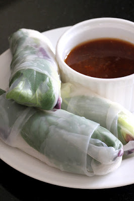 Summer Rolls with Dipping Sauce