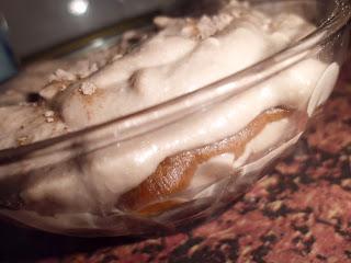 tiramisu de kefir y trufa