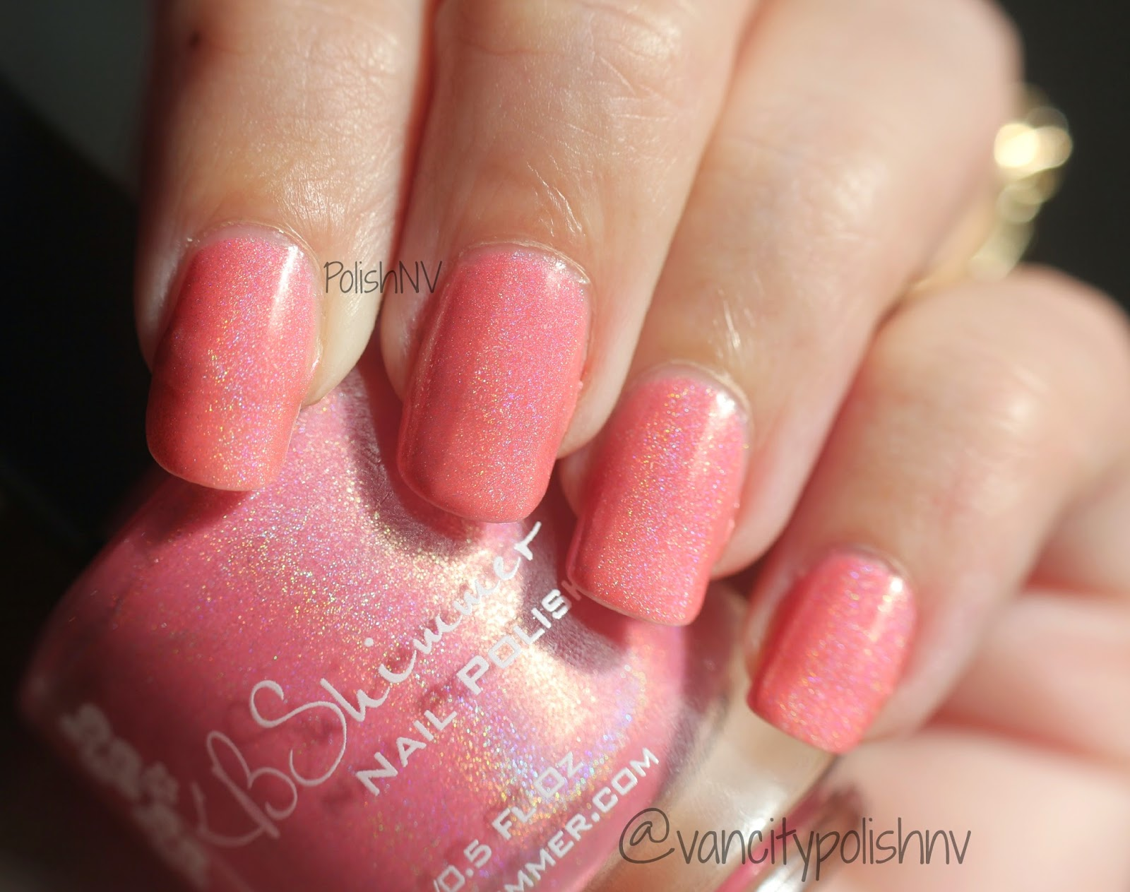KBShimmer Blush Money swatch