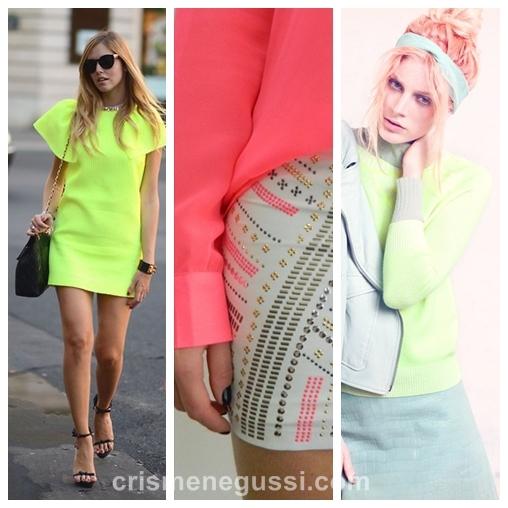 neon pastel