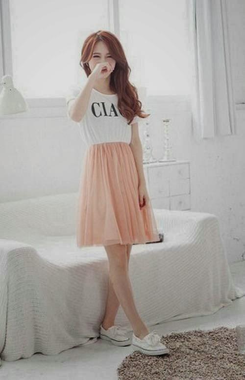 Trend Fashion Baju Wanita Korea Tahun 2014 Info Wandhira