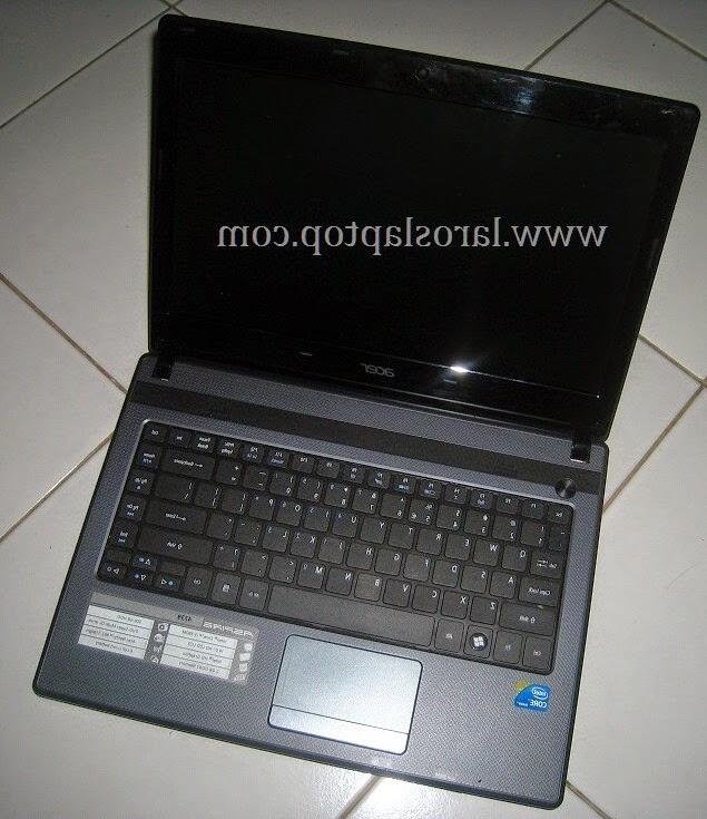 Laptop Second acer aspire 4739