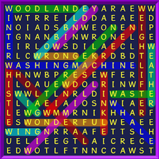 Binweevils Wordsearch Answers W is for...