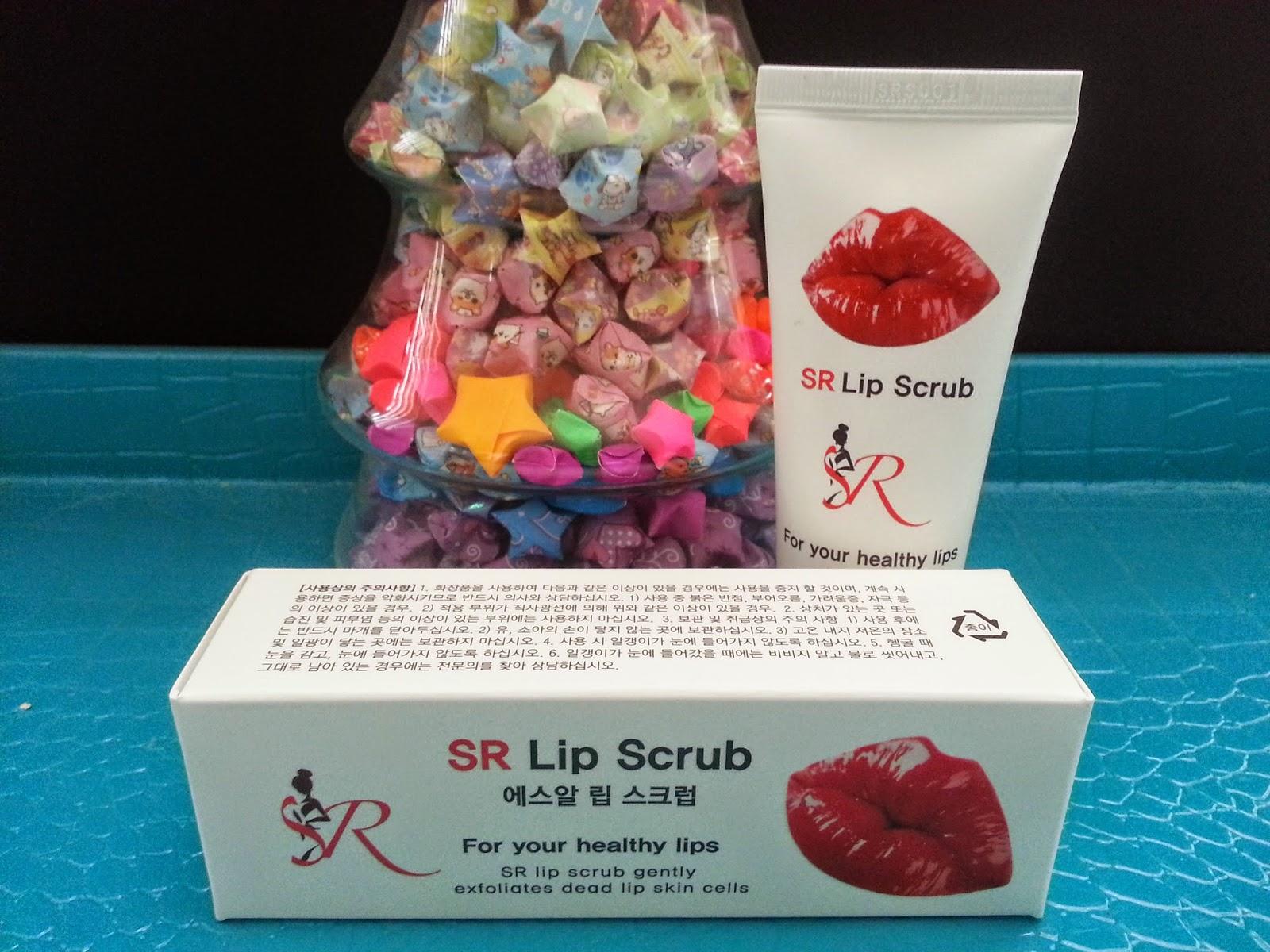 SR Lip Scrub