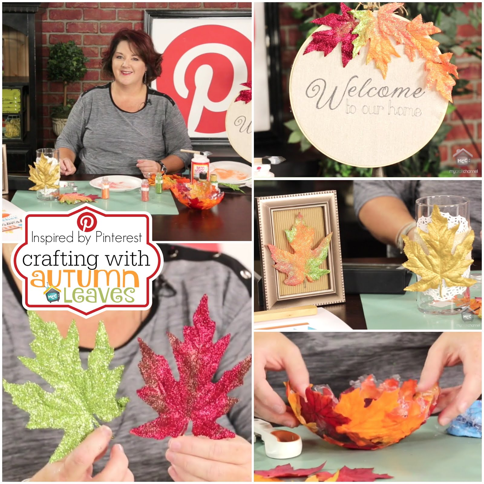 Crafting with Fall Leaves