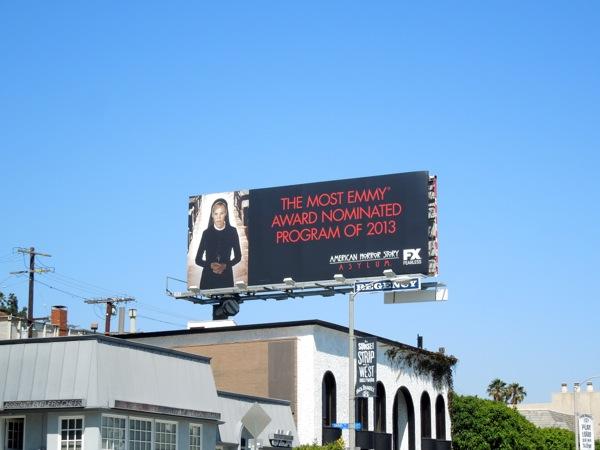 American Horror Story Asylum Emmy billboard