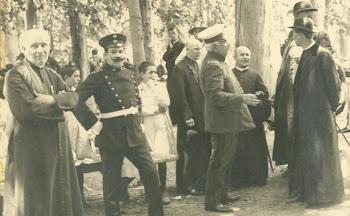Fotografía de enero de 1917 en el Parque Ortega.