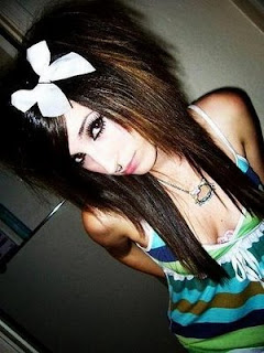 Girls Emo Hairstyle Long Hair Picture Gallery