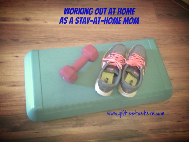 aerobic step, SAHM, SAHM workout, workout at home