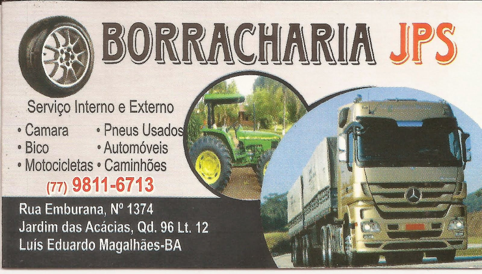 BORRACHARIA JPS